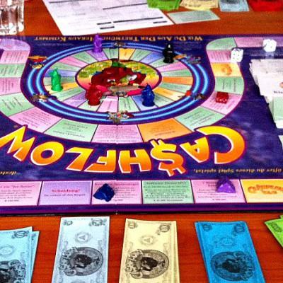 Cash flow Spiel- Was habe ich gelernt?