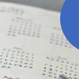 Jahresplanung – Tipps für Deine Planung