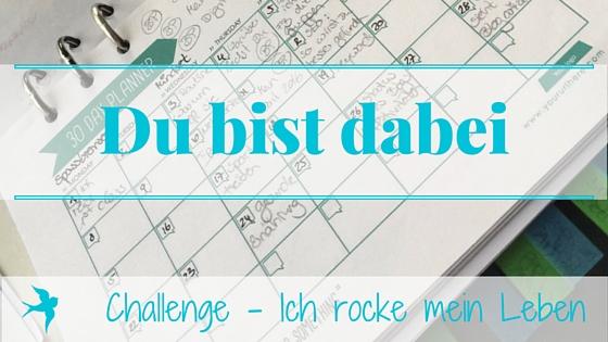 Challenge (IRL)- Du bist dabei