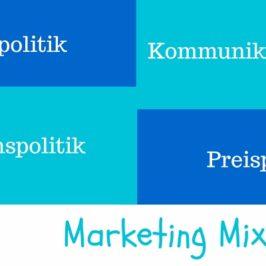 Wie ein gutes Marketing Mix funktioniert?