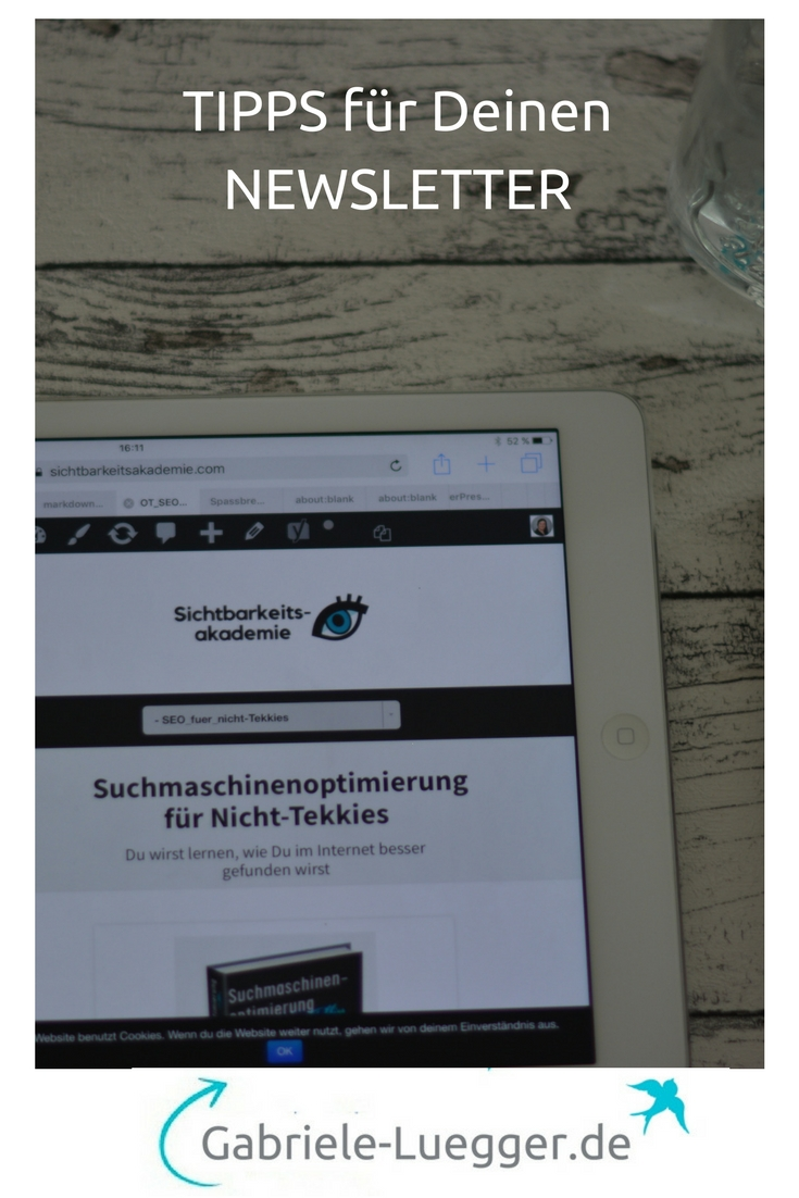 Newsletter - Wieso Du Newsletter regelmäßig schreiben solltest ...